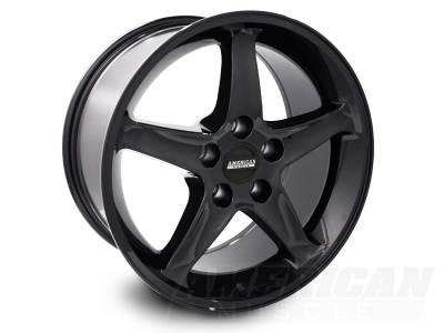 AM Custom - Ford Mustang Black 1995 Style Cobra R Wheel