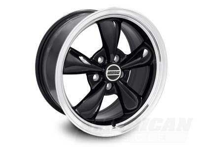 AM Custom - Ford Mustang Black Bullitt Wheel