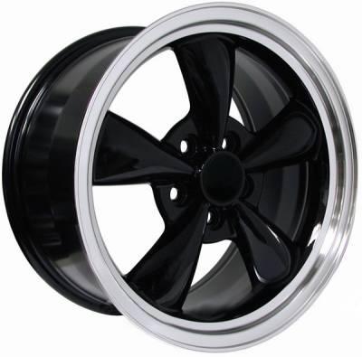 AM Custom - Ford Mustang Black Bullitt Wheel