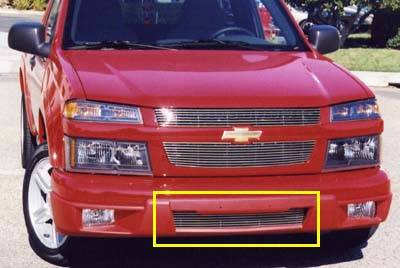T-Rex - Chevrolet Colorado T-Rex Bumper Billet Grille Insert - 7 Bars - 25265