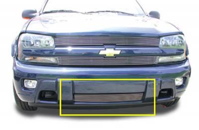 T-Rex - Chevrolet Trail Blazer T-Rex Bumper Billet Grille Insert - 8 Bars - 25282