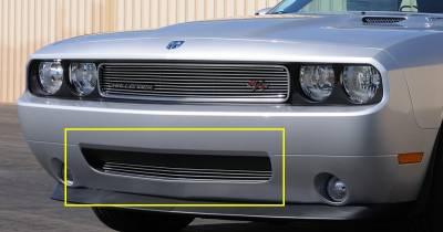 T-Rex - Dodge Challenger T-Rex Bumper Billet Grille - 25415