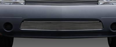 T-Rex - Dodge Challenger T-Rex Bumper Billet Grille - 25416