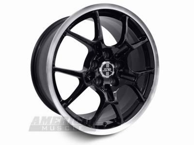 AM Custom - Ford Mustang Black GT4 Wheel