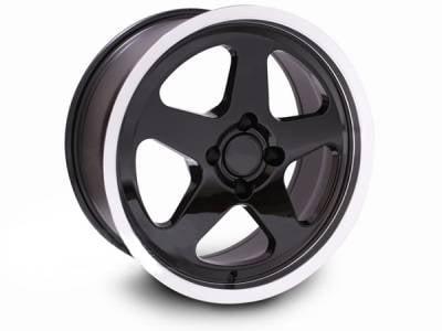 AM Custom - Ford Mustang Black SC Style Wheel