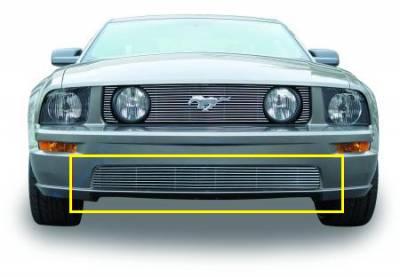 T-Rex - Ford Mustang T-Rex Bumper Billet Grille - 8 Bars - 25516