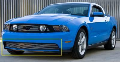 T-Rex - Ford Mustang T-Rex Bumper Billet Grille - Full Opening Design - 25519