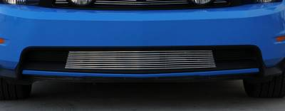 T-Rex - Ford Mustang T-Rex Bumper Billet Grille - Short Design - 25521