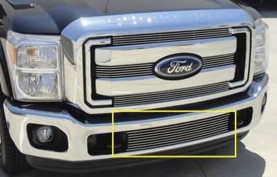 T-Rex - Ford Superduty T-Rex Bumper Billet Grille Insert - Between Tow Hooks - 25546