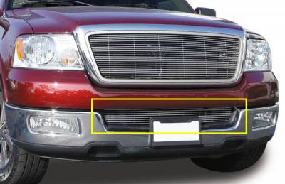 T-Rex - Lincoln Mark T-Rex Bumper Billet Grille Insert - 10 Bars - 25552