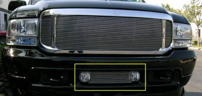 T-Rex - Ford Superduty T-Rex Bumper Air Dam Billet Grille Insert - 9 Bars - 25567