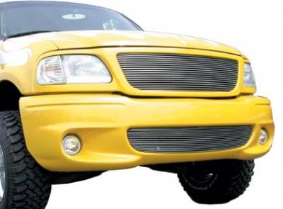 T-Rex - Ford F150 T-Rex Bumper Billet Grille Insert - 14 Bars - 25583