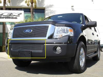 T-Rex - Ford Expedition T-Rex Bumper Billet Grille - 11 Bars - 25594