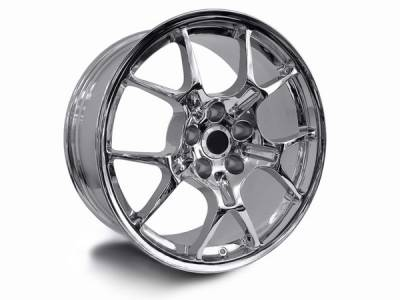 AM Custom - Ford Mustang Chrome GT4 Wheel