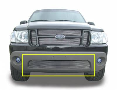 T-Rex - Ford Expedition T-Rex Bumper Billet Grille Insert - 13 Bars - 25653