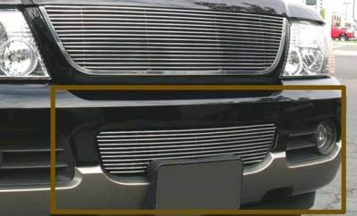 T-Rex - Ford Explorer T-Rex Bumper Billet Grille Insert - 11 Bars - 25656