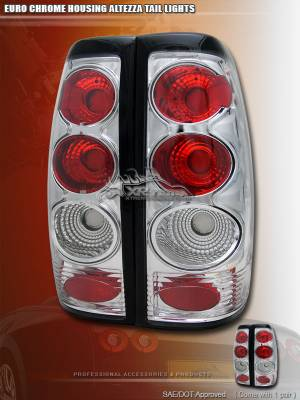 Custom - Euro Chrome Altezza Taillights