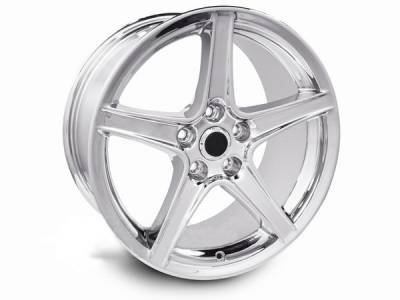 AM Custom - Ford Mustang Chrome S Style Wheel