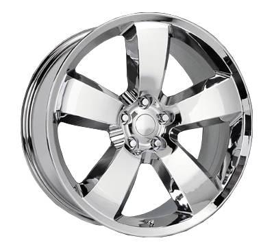 AM Custom - Ford Mustang Chrome SRT-8 Style Wheel