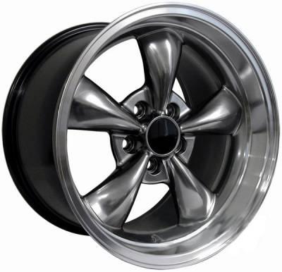 AM Custom - Ford Mustang Hypercoated Deep Dish Bullitt Wheel