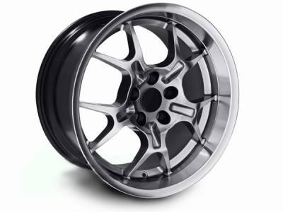 AM Custom - Ford Mustang Hypercoated Deep Dish GT4 Wheel