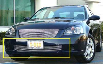 T-Rex - Nissan Altima T-Rex Bumper Billet Grille Insert - 9 Bars - 25741