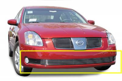 T-Rex - Nissan Maxima T-Rex Bumper Billet Grille Insert - 7 Bars - 25752