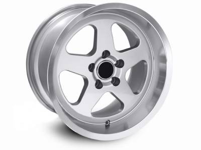 AM Custom - Ford Mustang Silver SC Style Wheel