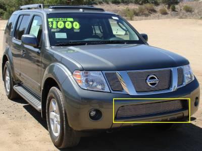 T-Rex - Nissan Pathfinder T-Rex Bumper Billet Grille Insert - 25761