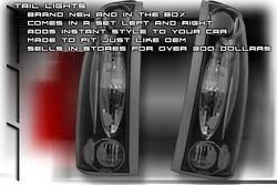 Custom - Black Clear Altezza Taillights