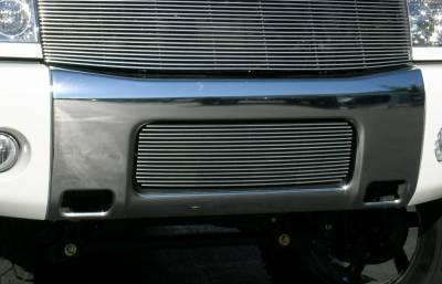 T-Rex - Nissan Titan T-Rex Bumper Billet Grille Insert - 16 Bars - 25780