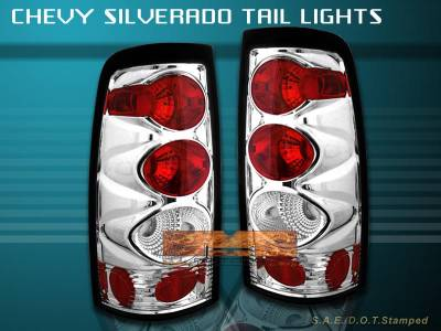 Custom - G2 Chrome Taillights