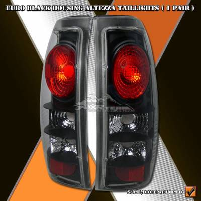 Custom - Euro Black Altezza Taillights