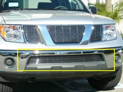 T-Rex - Nissan Frontier T-Rex Bumper Billet Grille - 9 Bars - 25789