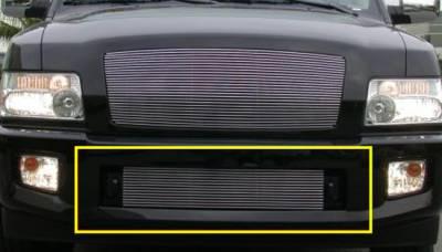T-Rex - Infiniti QX T-Rex Bumper Billet Grille Insert - 14 Bars - 25791