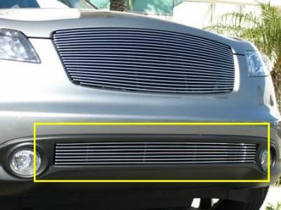 T-Rex - Infiniti FX T-Rex Bumper Billet Grille Insert - 7 Bars - 25792