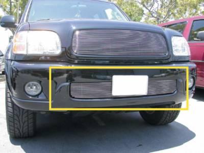 T-Rex - Toyota Sequoia T-Rex Bumper Billet Grille Insert - 12 Bars - 25905