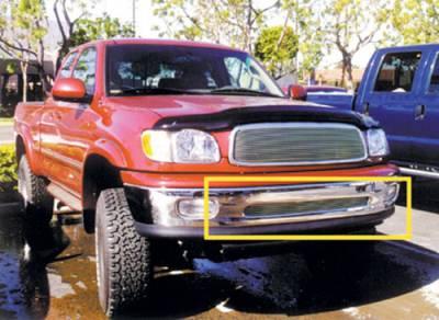 T-Rex - Toyota Tundra T-Rex Bumper Billet Grille Insert - 5 Bars - 25956