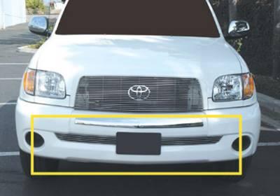 T-Rex - Toyota Tundra T-Rex Bumper Billet Grille Insert - 5 Bars - 25958