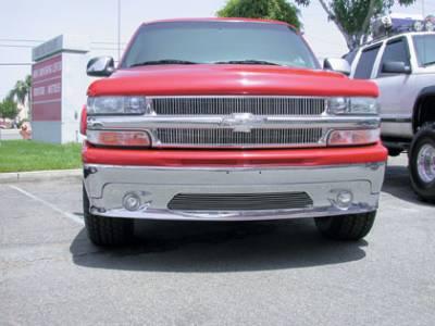 T-Rex - Chevrolet Silverado T-Rex Vertical Billet Grille Insert - 30075