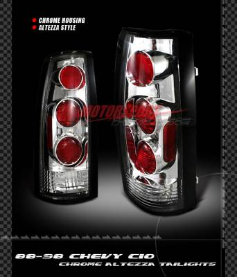 Custom - Chrome Clear Altezza Taillights
