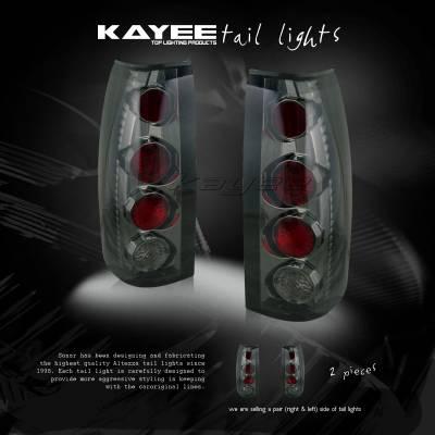 Custom - Smoked Altezza Taillights