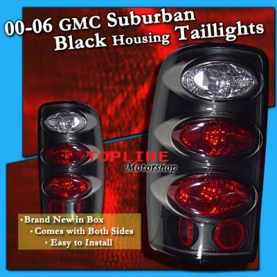 Custom - JDM Black Housing Taillights