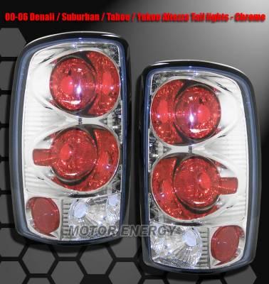 Custom - Chrome Clear Taillights