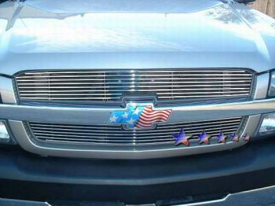 TFP - TFP Aluminum Billet Cut-Out Grille Replacement - 35676