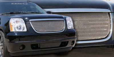 T-Rex - GMC Yukon T-Rex Sport Series Formed Mesh Grille - Stainless Steel - Triple Chrome Plated - 44171