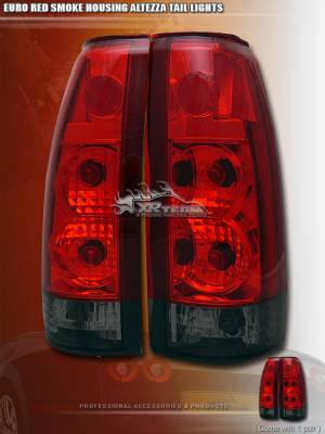 Custom - Euro Red Smoke Taillights