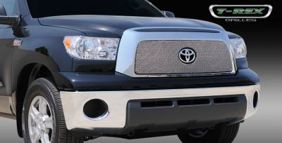T-Rex - Toyota Tundra T-Rex Sport Series Formed Mesh Grille - Stainless Steel - Triple Chrome Plated withoutpening - 44960