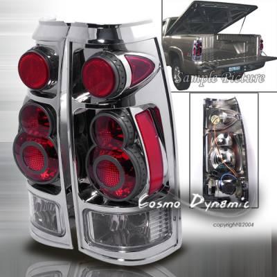 Custom - 3D Retro Chrome Taillights