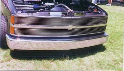 T-Rex - Chevrolet Silverado T-Rex Grille Assembly - Chrome - 50026